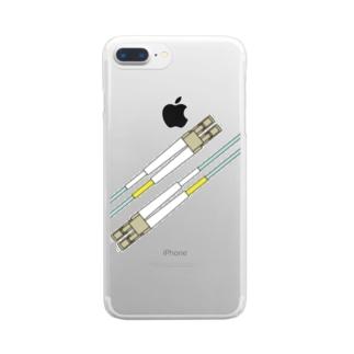 Fiber Clear smartphone cases