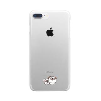 くうたんとお友達 Clear smartphone cases