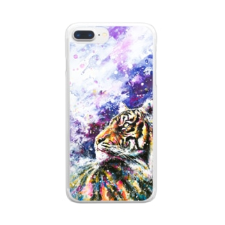 Tiger_01 Clear smartphone cases