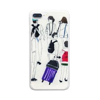 旅人 Clear smartphone cases