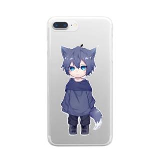 ちいさいるびぃ Clear smartphone cases