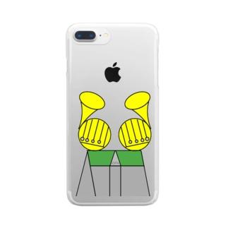 ホルン大聖堂 Clear smartphone cases