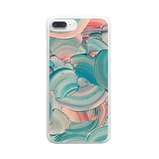 女 Clear smartphone cases