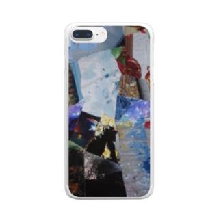 「秋から冬へ」 Clear smartphone cases