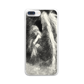 Lost'knotの堕天シチャッタノ Clear smartphone cases