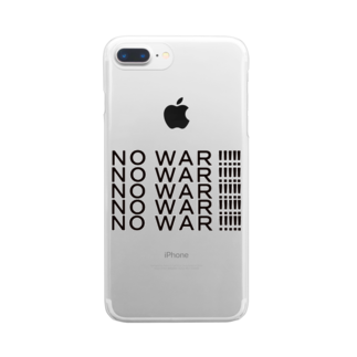 ヒラエイのNOWAR Clear smartphone cases
