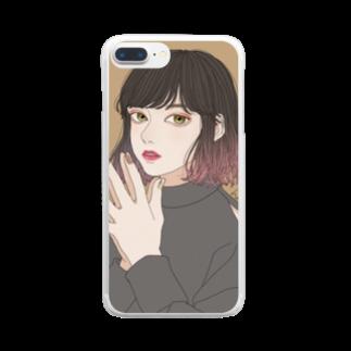 ずき(はる貴)の💗 Clear smartphone cases
