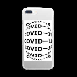 G-HERRING(鰊;鮭;公魚;Tenkara;SALMON)のCOVIDー19  Clear smartphone cases