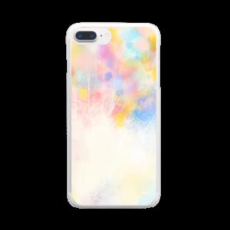 MoyoMoyoのなんどもいうよ Clear smartphone cases