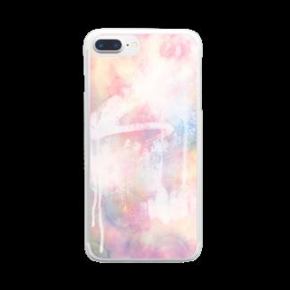 MoyoMoyoのふたたび Clear smartphone cases