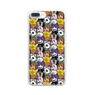industrious industryのANIMALs 4th Clear smartphone cases