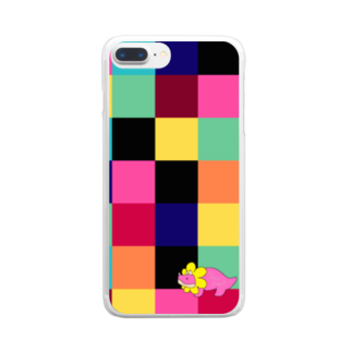 Urakimoooooのぬーちゃんざうるす Clear smartphone cases