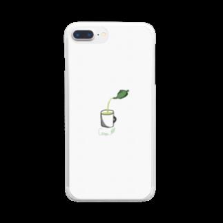TKD.SEのお茶カフェ Clear smartphone cases