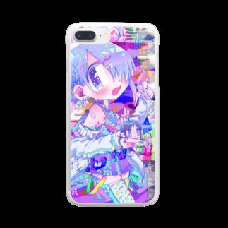 八十一水のjust the two of us Clear smartphone cases
