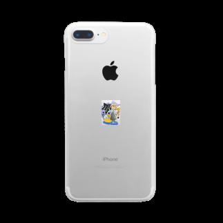 asahiyoruaのハロウィン🎃 Clear smartphone cases