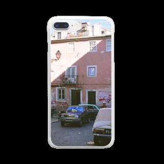 FUCHSGOLDのポルトガル:アルファマの風景写真 Portugal: Alfama / Lisboa (Lisbon) Clear smartphone cases