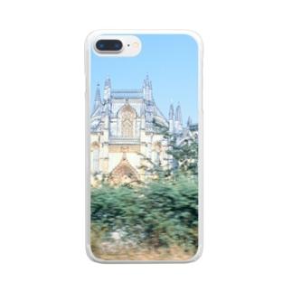 ポルトガル:バターリャ修道院 Portugal: Batalha Monastery Clear smartphone cases