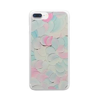 かいがらの海 Clear smartphone cases