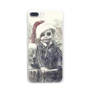 A boy who predicts death Clear smartphone cases
