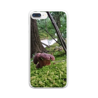Mushroom vol.1 Clear smartphone cases