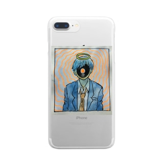 カオナシリーマン Clear smartphone cases
