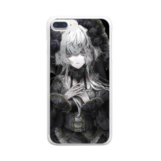 ゴシック Clear smartphone cases