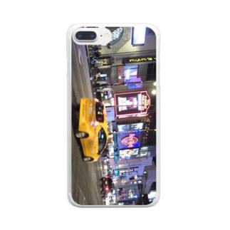 ロサンゼルス  Clear smartphone cases