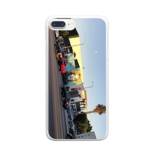 LA Clear smartphone cases