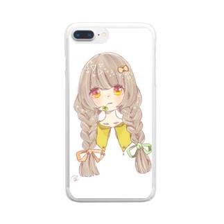 ちょうちょ Clear smartphone cases