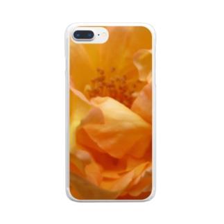 幸せの道しるべ Clear smartphone cases