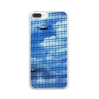 空ビル Clear smartphone cases