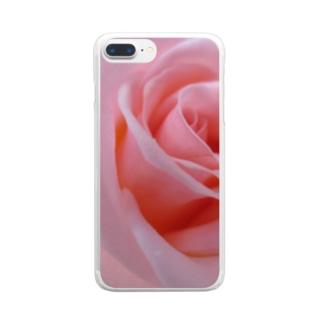 少女の手がかり Clear smartphone cases