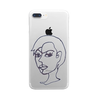 MR.レディ Clear smartphone cases