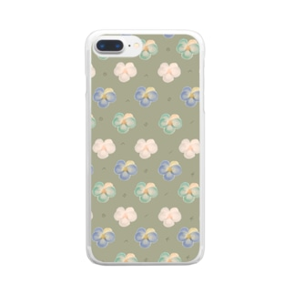 viola Clear smartphone cases