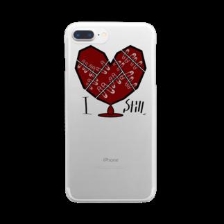天獄堂のI Still,  Clear smartphone cases