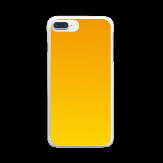 ネの秋 Clear smartphone cases