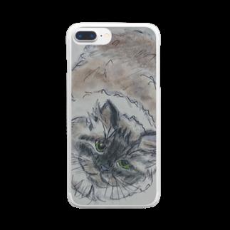 chirorirorinのLDCHAN Clear smartphone cases