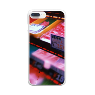 galah_addの食物連鎖 Clear smartphone cases