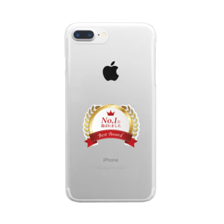 *MONOGATARIのNo.1に選ばれました Clear smartphone cases