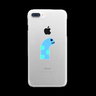 sjj1230のちんあなごたん ナチュラルセンター Clear smartphone cases