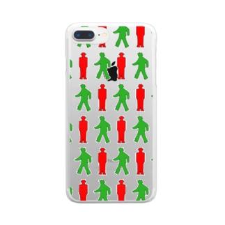 ★歩行者信号機★ Clear smartphone cases