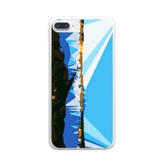 鳥海 Clear smartphone cases