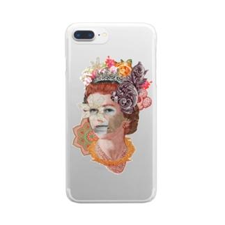 Money Queen Clear smartphone cases