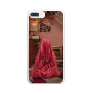 Satin bag Hinako Clear smartphone cases