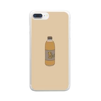 麦茶 Clear smartphone cases