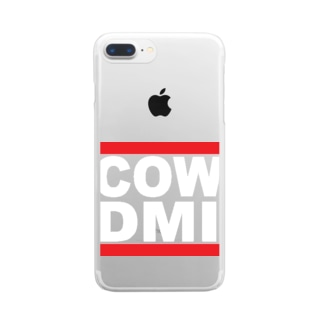 COW DMI Clear smartphone cases
