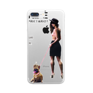 UNIREBORN WORKS ORIGINAL DESGIN SHOPのQUAL È IL PROPRIETARIO? Clear smartphone cases