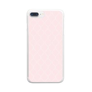 モロッカン Clear smartphone cases