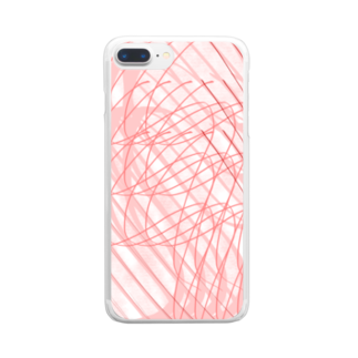 nuluのTHE 曲線 Clear smartphone cases