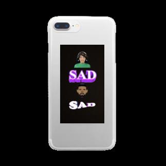 nonewfriendsのI'm sad now Clear smartphone cases